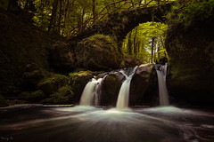Mullerthal Waterfalls II (Tony N.) Tags: longexposure bridge forest waterfalls cascades pont luxembourg luxemburg fort vanguard mullerthal echternach poselongue nd64 d810 schiessentumpel nikkor1635f4