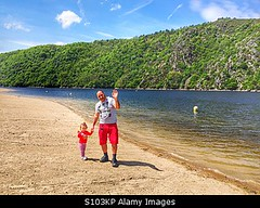 Photo accepted by Stockimo (vanya.bovajo) Tags: hello old family 2 lake holiday man green beach nature water forest walking 1 togetherness toddler walks alone hand walk father year daughter saying parent lakeshore recreation moment iphone iphonegraphy stockimo