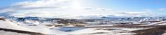 Myvatn - Winter paradise (Michael S Betz) Tags: winter vacation sky panorama sun snow ice clouds island michael iceland nikon paradise stitch urlaub ngc dream d750 fullframe tamron geothermal myvatn betz 2470 nikonflickaward