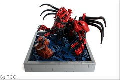 The servant of Cthulhu (...The Chosen One...) Tags: lego evil cthulhu lovecraft bionicle moc kalmah