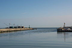 Way Out (grasso.gino) Tags: italien sea italy water port nikon meer wasser italia harbour hafen marche marken fano d5200