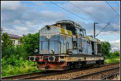 80-0532-4 (Zoly060-DA) Tags: old blue red white green grey hp diesel railway v romania locomotive bo 80 ldh bucuresti cluj napoca 1250 hydraulic cfr shunter infrastructura 0532 faur monocabine