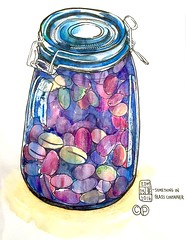 EDM 25 - May - something in glass container.. (Christy Powell Design) Tags: olives edm everydayinmay