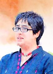 Sabeen Mahmud (| Haroon |) Tags: pakistan portrait karachi ngo sabeen socialworker sabeenmahmud