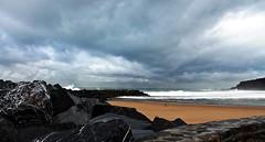 Donostia (Gurutx) Tags: blue sea costa beach azul mar playa paisaje arena euskadi rocas paisvasco donostia gros guipuzcoa sansebastin cantbrico euskalerria marcantbrico