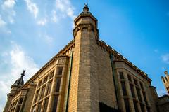 Tout est beau grâce à toi. (- Ali Rankouhi) Tags: blue sky india bangalore palace ciel 2016 قلعه هند بنگلور