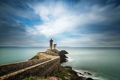 Petit Minou (Tony N.) Tags: france bretagne finistre brest pharedupetitminou phare lighthouse petitminou poselongue longexposure sea mer nuages clouds d810 nikkor1635f4 vanguard