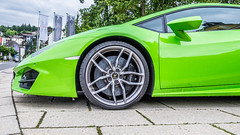Lamborghini in green (wigerl) Tags: auto light italy black green austria licht sterreich europa europe italia fuji foto krnten carinthia lamborghini supersport lambo velden sportwagentreffen fujixt1 fujixc18135mm