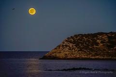 Moonrise (ANGELS ARALL) Tags: moon luna fullmoon ibiza moonrise es eivissa llena illesbalears illes santaeulalia canar