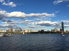 Timelapse of sailboats, clouds, and smoke ((Jessica)) Tags: cambridge sky weather boston clouds boats timelapse video massachusetts charlesriver newengland sailboats iphone