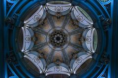 Kuppel im Crculo de Bellas Artes (Alf Layla wa Layla) Tags: madrid building art museum architecture spain kunst espana cupola dome architektur gebude spanien kuppel crculodebellasartes