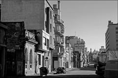 """Morning Light"" - Montevideo, Uruguay (TravelsWithDan) Tags: street blackandwhite bw southamerica uruguay morninglight nopeople montevideo uninhabited emptyplaces"