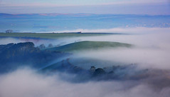 Spring mists. (jamiegaquinn) Tags: mist dawn devon kingsbridge ria salcombe eastportlemouth kingsbridgeestuary iplymouth