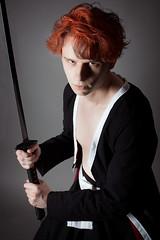 Ichigo Kurosaki (Keres Jasminka) Tags: red costume cosplay manga hakama obi bankai ichigokurosaki