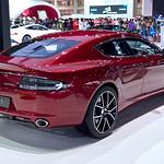 Red Aston Martin Rapide S at the 36th Bangkok International Motor Show thumbnail