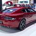 Red Aston Martin Rapide S at the 36th Bangkok International Motor Show