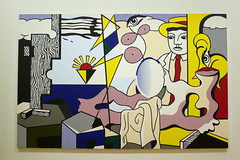Roy Lichtenstein - Figures with sunset (Mhln) Tags: paris san francisco icons grand exhibition exposition american palais icones amricaines