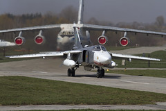 SU-24MR 11 CLOFTING IMG_9571 FL (Chris Lofting) Tags: 11 sukhoi fencer su24 ukraineairforce su24mr 11yellow starakonstantinov