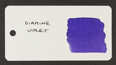Diamine Violet - Word Card