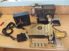 Telescope drive upgrade in motion (edhiker) Tags: tcs brackets edhiker mks4000 smartstarthardwarekit bisquetcs
