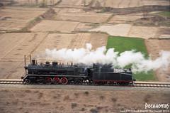 2015/4/4 SY1321 Liancheng (Pocahontas®) Tags: railroad film train canon kodak engine rail railway steam locomotive gansu eos1v 135film yaojie ektar100 sy1321