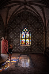 Atrapando el color (Javier Martinez de la Ossa) Tags: portugal sintra showcase vidrieras gótico palaciodapena dapena nikond700 nikkor2470 javiermartinezdelaossa