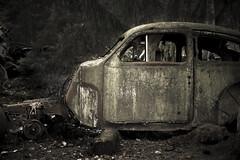 Volvo PV (arkland_swe) Tags: rust rost oxidation junkyard skrot bil car ryd kyrkmosse smland sweden decay frfall vergiven abandoned ljugarn3 junk vintage ue vergivnaplatser