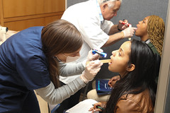 NPHW Health Fair 041615 -20 (hofstrauniversity) Tags: light public tongue mouth lights check fair dental health doctor flashlight females doctors dentist healthfair flashlights checkup publichealth 2015 tonguedepressor depressor dentalcheckup 042615 femaledentist nationalpublichealth nphw nationalpublichealthweek nphwfair nphwhealthfair