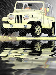 jeep wrangler (  ) Tags: car photoshop jeep drawing 90 nineties 44 wrangler