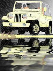 jeep wrangler (هاوي تصوير مبتديء) Tags: car photoshop jeep drawing 90 nineties 44 wrangler سيارة سيارات رسم رسوم فوتوشوب رسمة جيب رانجلر التسعينات