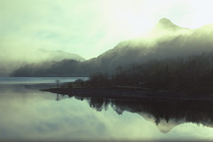 Dawn at Glencoe (David J. Grant) Tags: winter mist landscape scotland nikon glencoe loch pap ballachulish d3200
