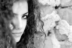 Portrait Ketty (pinomangione) Tags: portrait monocromo eyes persone occhi ritratto biancoenero allaperto profonditdicampo pinomangione fotoamatorigioiesi