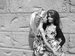 Barbie & Teagan (doll_lovebug) Tags: lesbian outside doll barbie moms loveislove