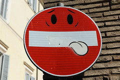 enjoy the weekend! (Werner Schnell Images (2.stream)) Tags: street rome roma art sign weekend abraham tgif rom ws clet