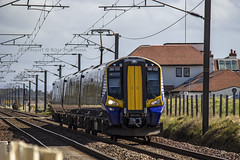 380020 2K94 (Rossco156433) Tags: electric train outside scotland siemens scotrail emu motor irvine levelcrossing ayrshire nederlandsespoorwegen northayrshire desiro gailes abellio class380 380020