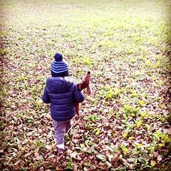 #autumn #kid #little friends ... le #foglie in autunno (Mamèle) Tags: autumn foglie kid little