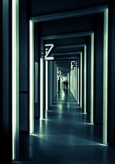 Lost in Translation (thewhitewolf72) Tags: museum installation korridor ausstellung wrterbuch kassel buchstaben grimm leuchtrhren grimmwelt