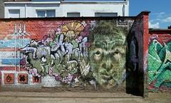 Graffiti Antwerp (rogerpb) Tags: street decorations urban streetart color art tourism illustration graffiti belgium belgique outdoor sightseeing streetphotography belgi murals tags spraypaint antwerp lettering tagging belgica fresco antwerpen bombing aerosolart seaport amberes anvers spraycanart flanders graffitiart flandres muurschildering merksem vlaanderen straatkunst muurkunst havenstad belgiangraffiti panasoniclumixdmctz8 rogerbrosius
