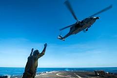 160510-N-EH218-056 (U.S. Pacific Fleet) Tags: ocean usa pacific mob pacificocean cruiser underway deployment 2016 ussmobilebay cg53 7thfleet