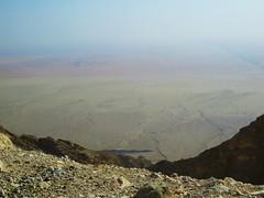 Cliffs and wadis (tom_2014) Tags: travel cliff mountain landscape view desert uae middleeast landmark canyon cliffs emirates abudhabi arabia scree alain wadi unitedarabemirates arid jebel jebelhafeet hafeet emptyquarter arabiandesert arabianpeninsular