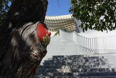 Intra Larue 709 (intra.larue) Tags: street urban art sevilla breast arte pit seville urbano teta sein moulding espagne andalousie espagna urbain pecho intra espanya formen seno brust moulage tton andalouzia