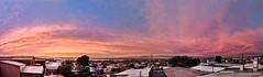 Panormica de Caldera (Mauricio Bustamante) Tags: chile city sunset sol de ciudad playa caldera atacama puesta