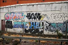 Various... (Alex Ellison) Tags: urban graffiti boobs tag help add graff per bake bam eastlondon trackside yrp opd flem yks droe t32 arxs