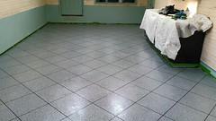 Epoxy Tile Flooring - Sullivan IL (Decorative Concrete Kingdom) Tags: tile flake epoxy chip
