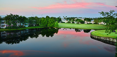 Sunrise at Disney's Old Key West Hotel (Timfy Mills) Tags: old lake west water sunrise golf hotel key disney course nikon28300mm nikond610