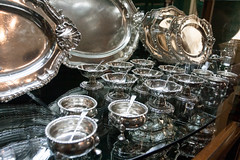 The family silver (jimj0will) Tags: metal museum silver shiny silverware cabinet shapes plate spoon precious ag condiments dishes heirlooms statelyhome platters tableware ickworth riches saltcellar familysilver cuttlery preciousmetal