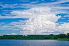 Lake Montebello & Thunderhead I (MD Phillips) Tags: sky cloud lake outdoor maryland baltimore thunderhead thundercloud lakemontebello