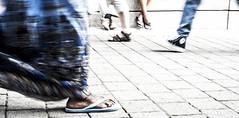 Motion (Gilles Meunier photo) Tags: feet colors festival shoes montral montreal urbain souliers