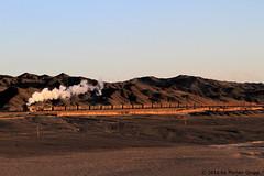 I_B_IMG_7505 (florian_grupp) Tags: china railroad train landscape asia mine desert muslim railway steam xinjiang mikado locomotive ore js steamlocomotive 282 opencastmine yamansu