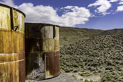 Abandoned Mine in Death Valley N.P. (punahou77) Tags: california park sky history abandoned clouds landscape nationalpark mine desert mining historical deathvalley deathvalleynationalpark stevejordan nikond7100 punahou77